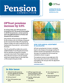 Pension Connection Winter 2014