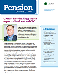 Pension Connection Winter 2015