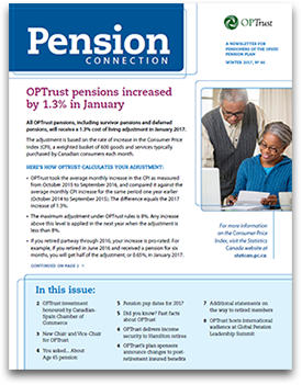 Pension Connection Winter 2017