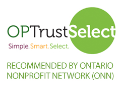 OPTrust Select recommended by Ontario Nonprofit Network (ONN)