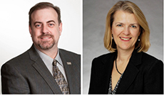 Tim Hannah and Sharon C. Pel - New OPTrust Chair and Vice-Chair