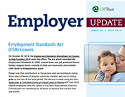 Employer Update cover