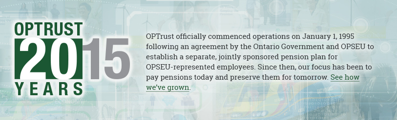OPTrust 20 years
