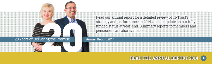 2014 OPTrust Annual Report