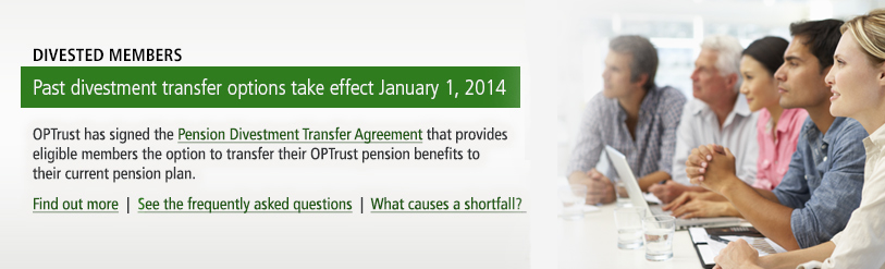 Past divestment transfer options take effect January 1, 2014